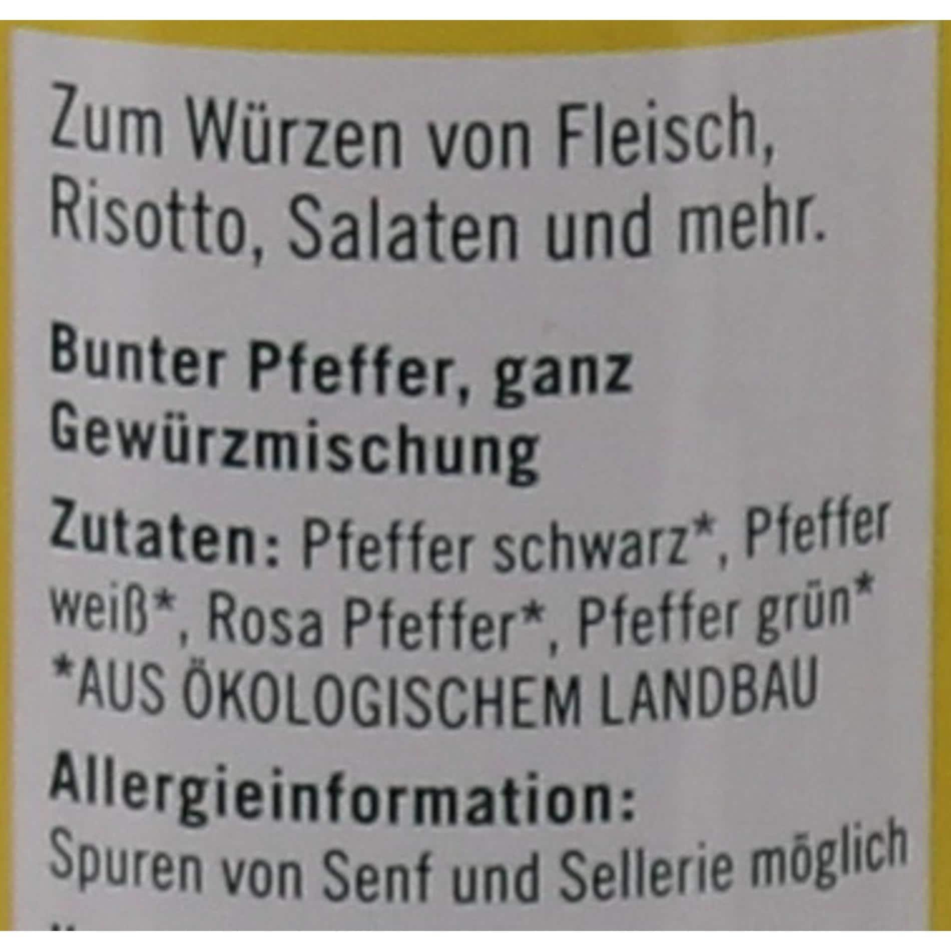 Lebensbaum Bio Bunter Pfeffer 45g