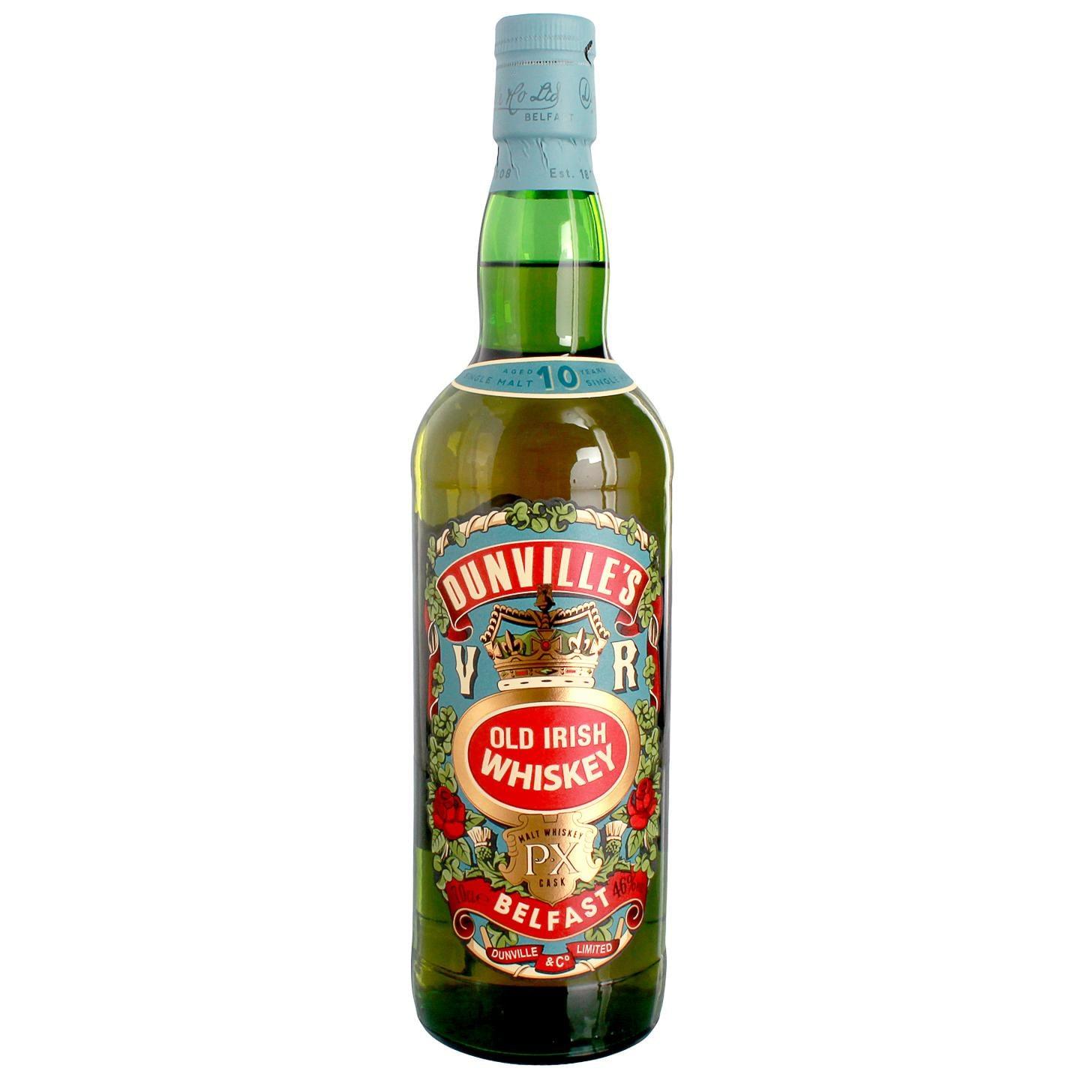 Dunville's Old Irish Whiskey 10 Jahre 0,7l