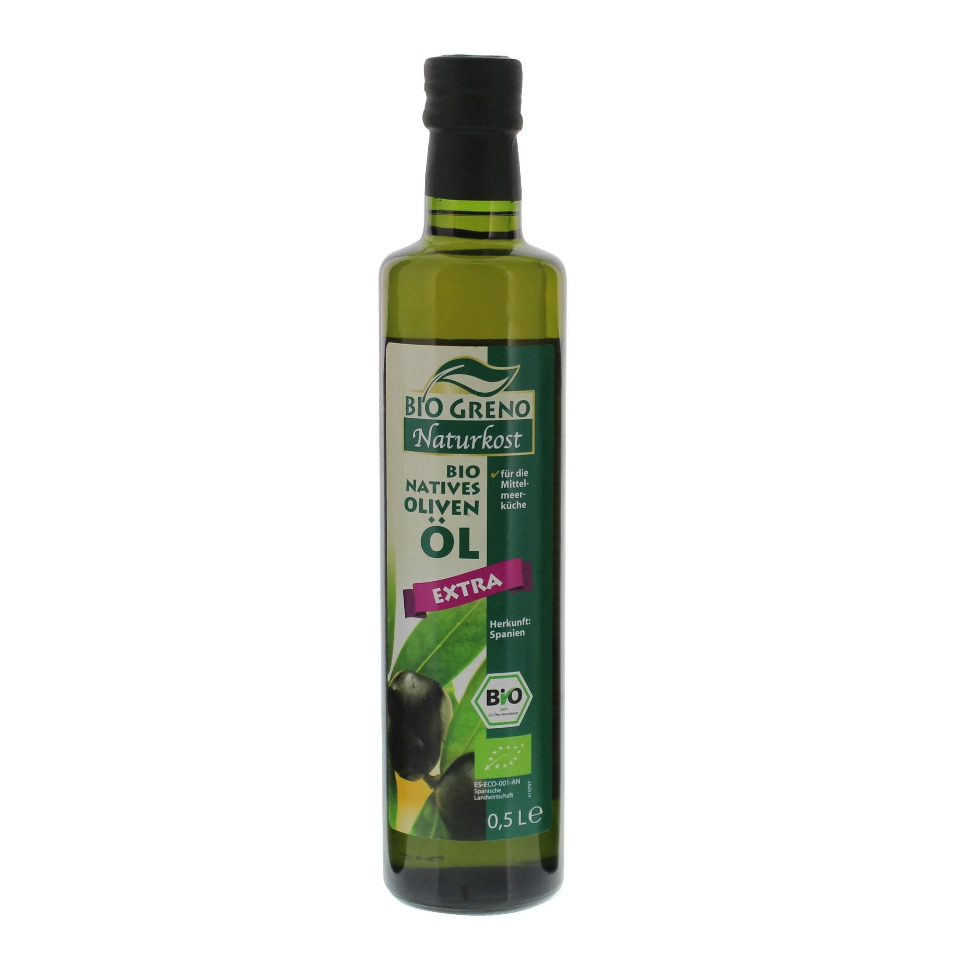 Bio Greno Bio Natives Olivenöl extra 0,5l