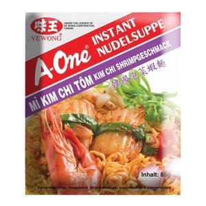 A-One - Instantnudelsuppe Kim Chi Shrimps - 85g