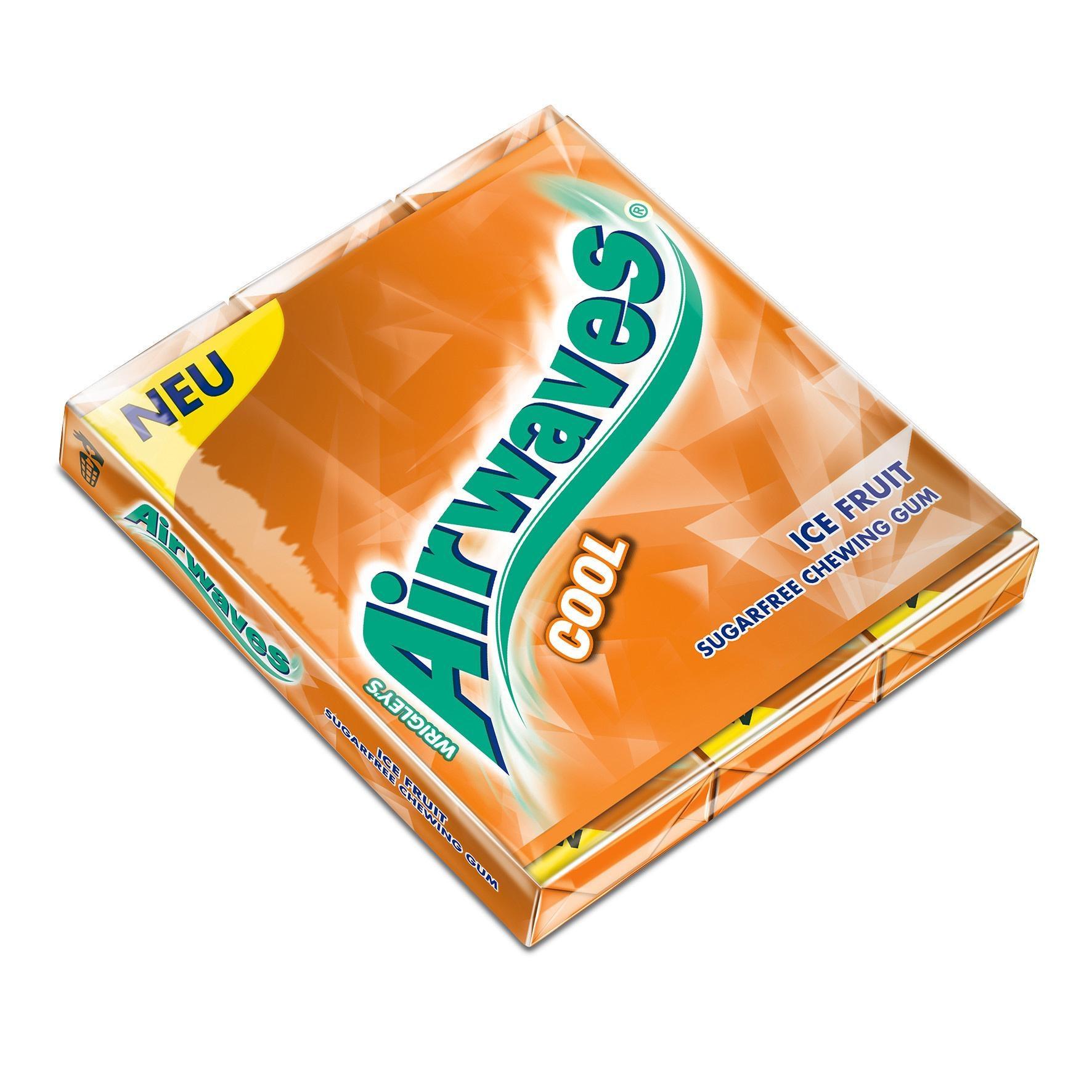 Wrigley's - Airwaves Cool Ice Fruit Kaugummi - 3x10St/48g
