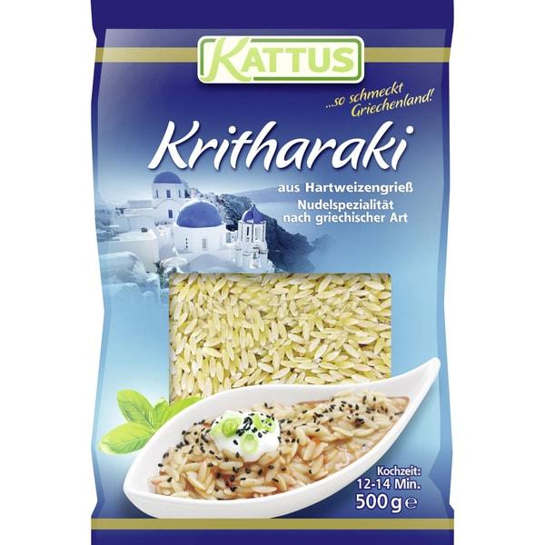 Kattus - Kritharaki Nudeln griechische Pasta - 500g