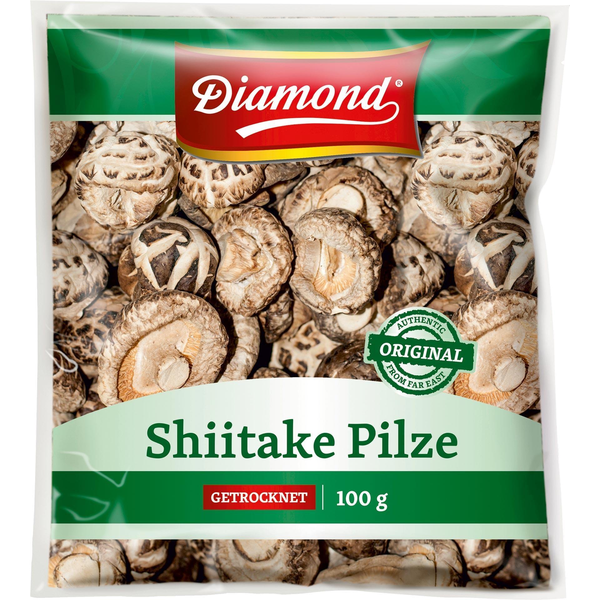 Diamond - Shiitake Pilze Kochzutaten - 100g