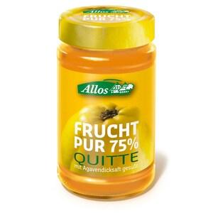 Allos Bio Frucht Pur 75% Quitte Fruchtaufstrich 250g