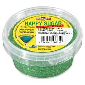 Happy Sugar Dekorzucker Grün 150g