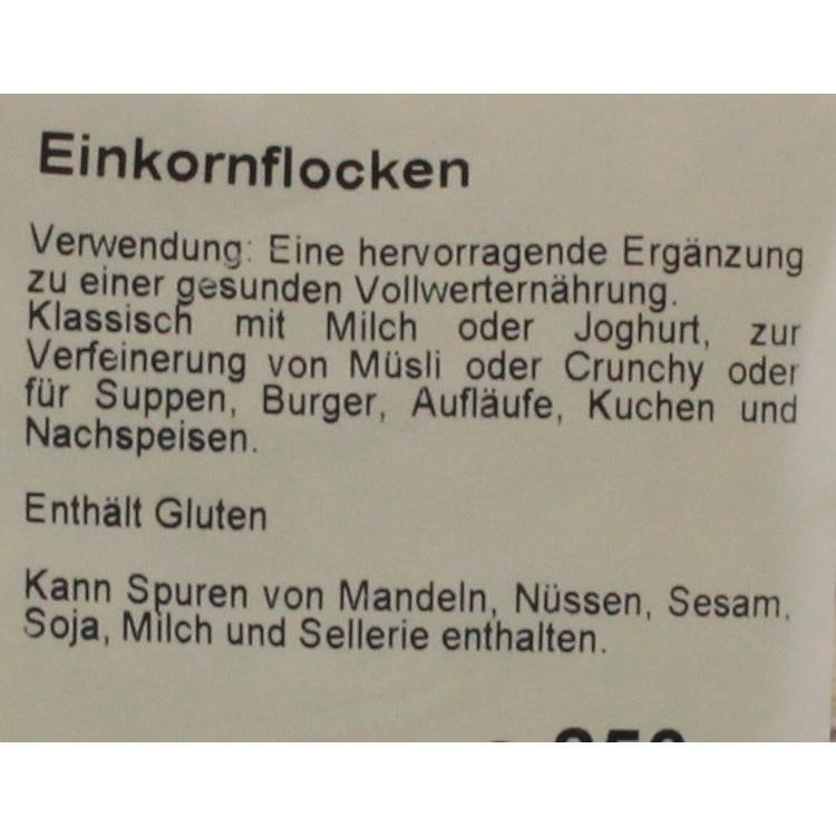 Bohlsener Mühle - Bio Einkornflocken - 250g