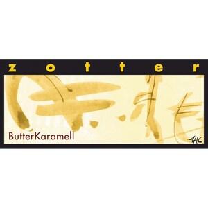 ZotterBio Butter Karamell Fairtrade Schokolade 70g
