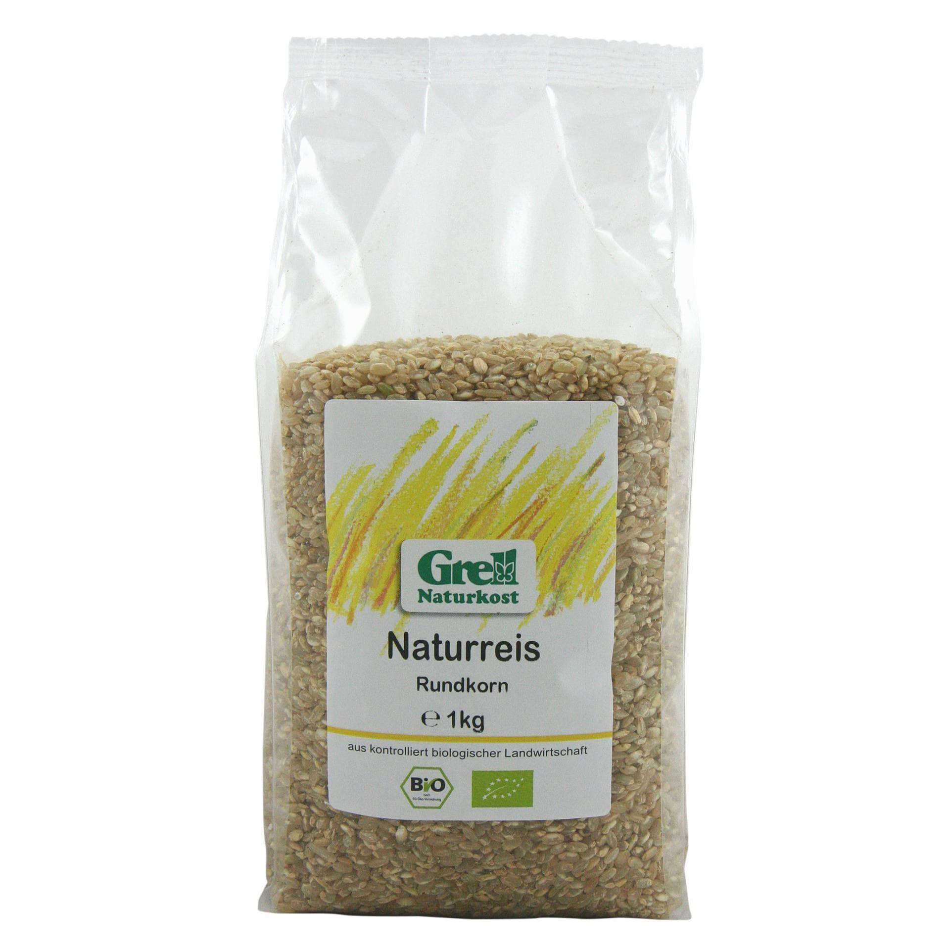 Grell Bio Naturreis Rundkorn 1kg