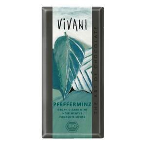 Vivani Bio Pfefferminz Schokolade 100g