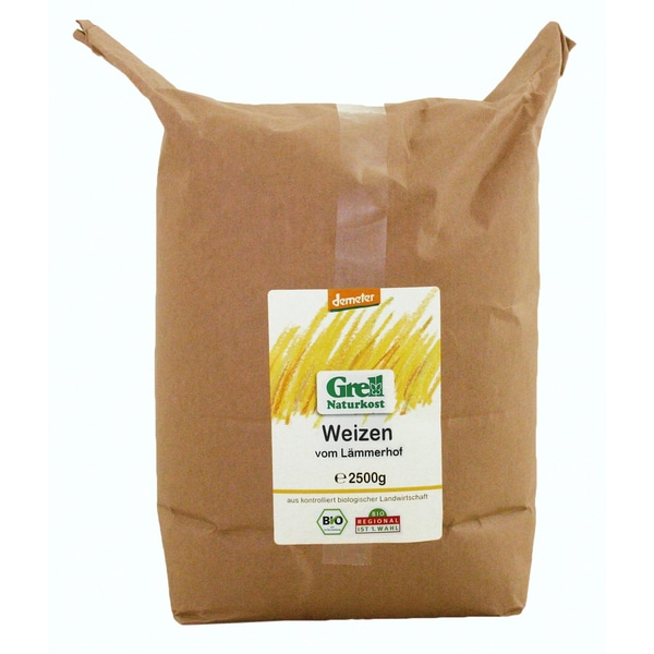 Grell Bio Weizen vom Lämmerhof 2,5kg