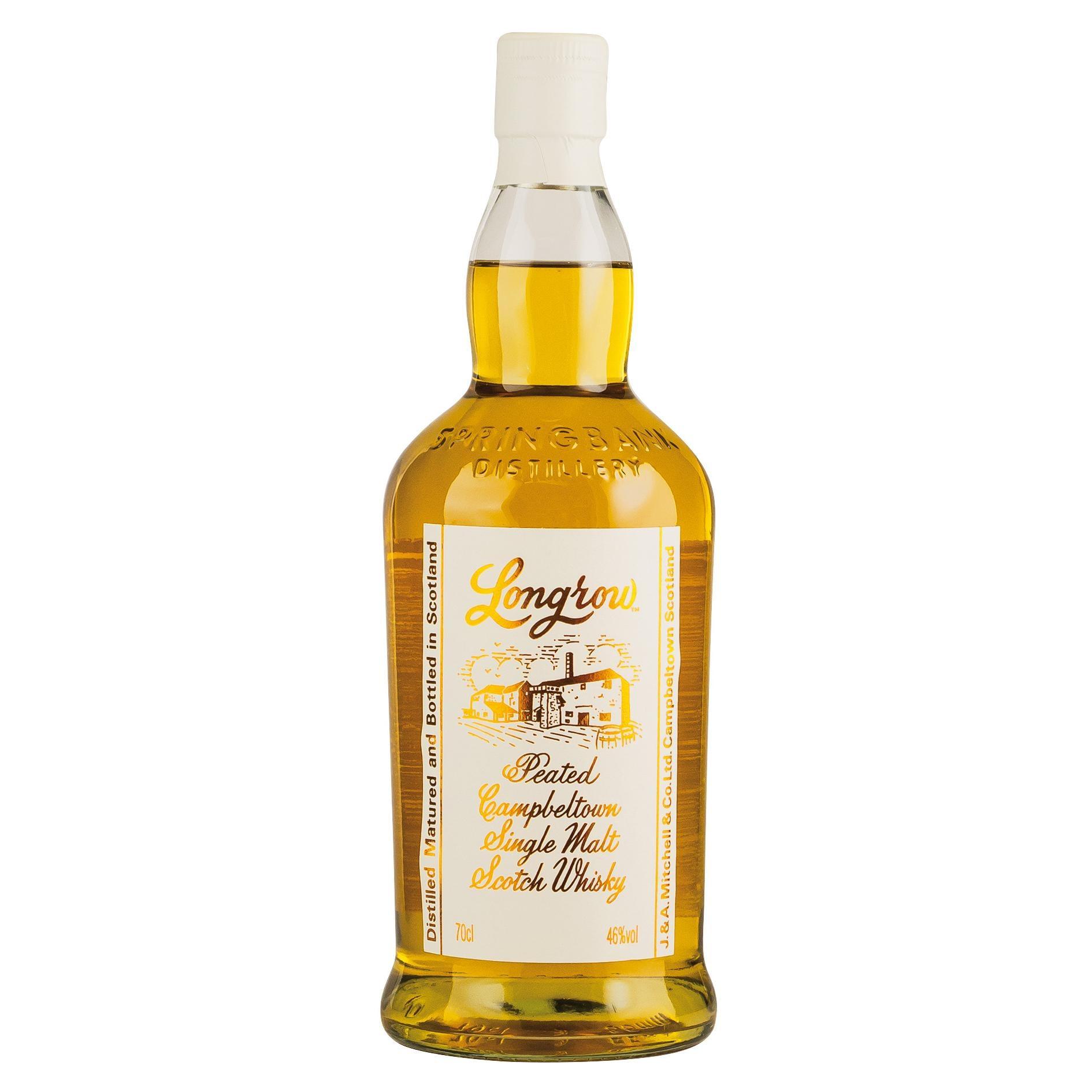 Longrow Peated Campbeltown Single Malt Scotch Whisky 0,7l