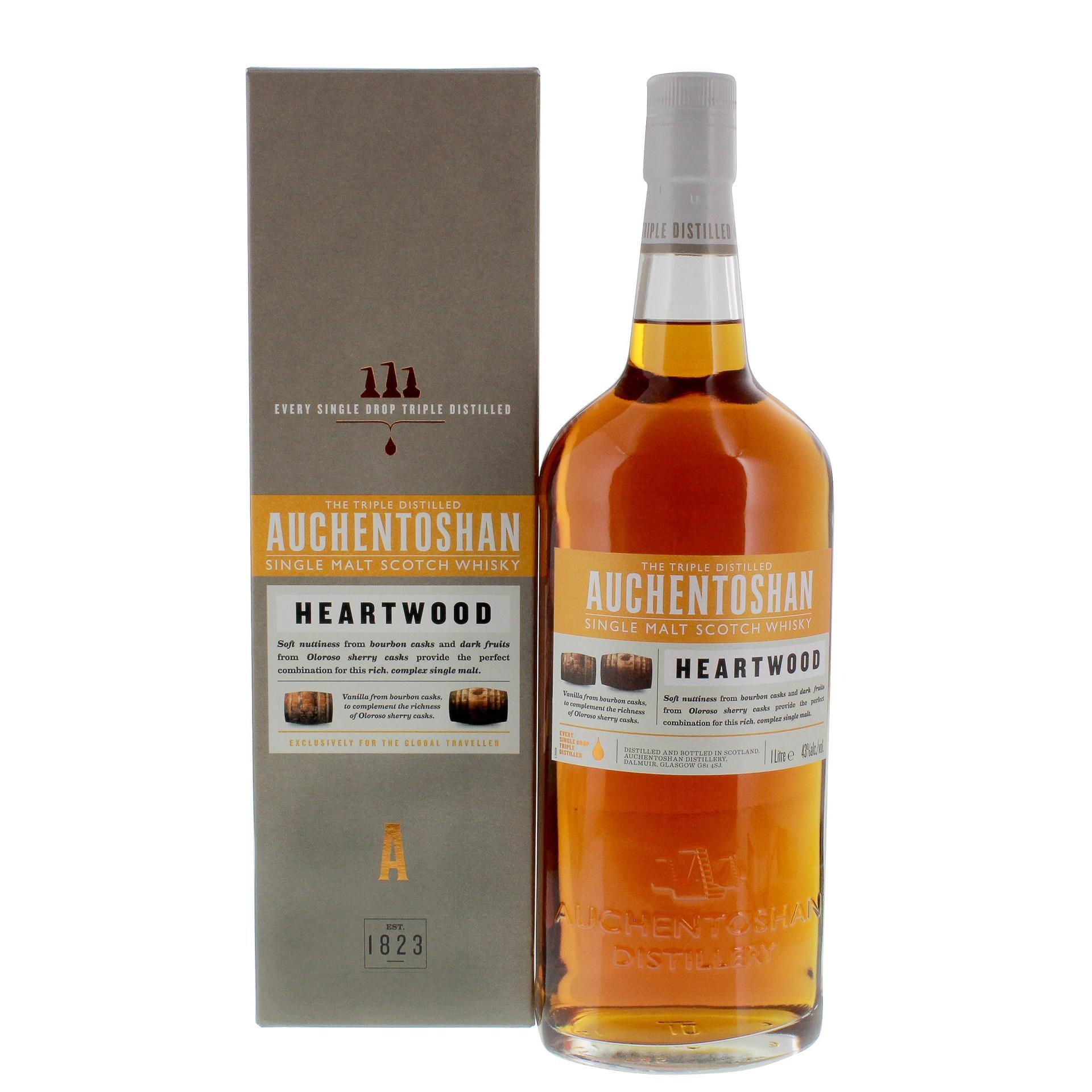 Auchentoshan Heartwood Single Malt Scotch Whisky 1l