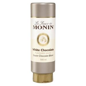 Monin Café-Sauce Weiße Schokolade - Sirup - 0,5l
