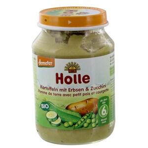 Holle Bio Kartoffeln mit Erbsen und Zucchini Babybrei 190g