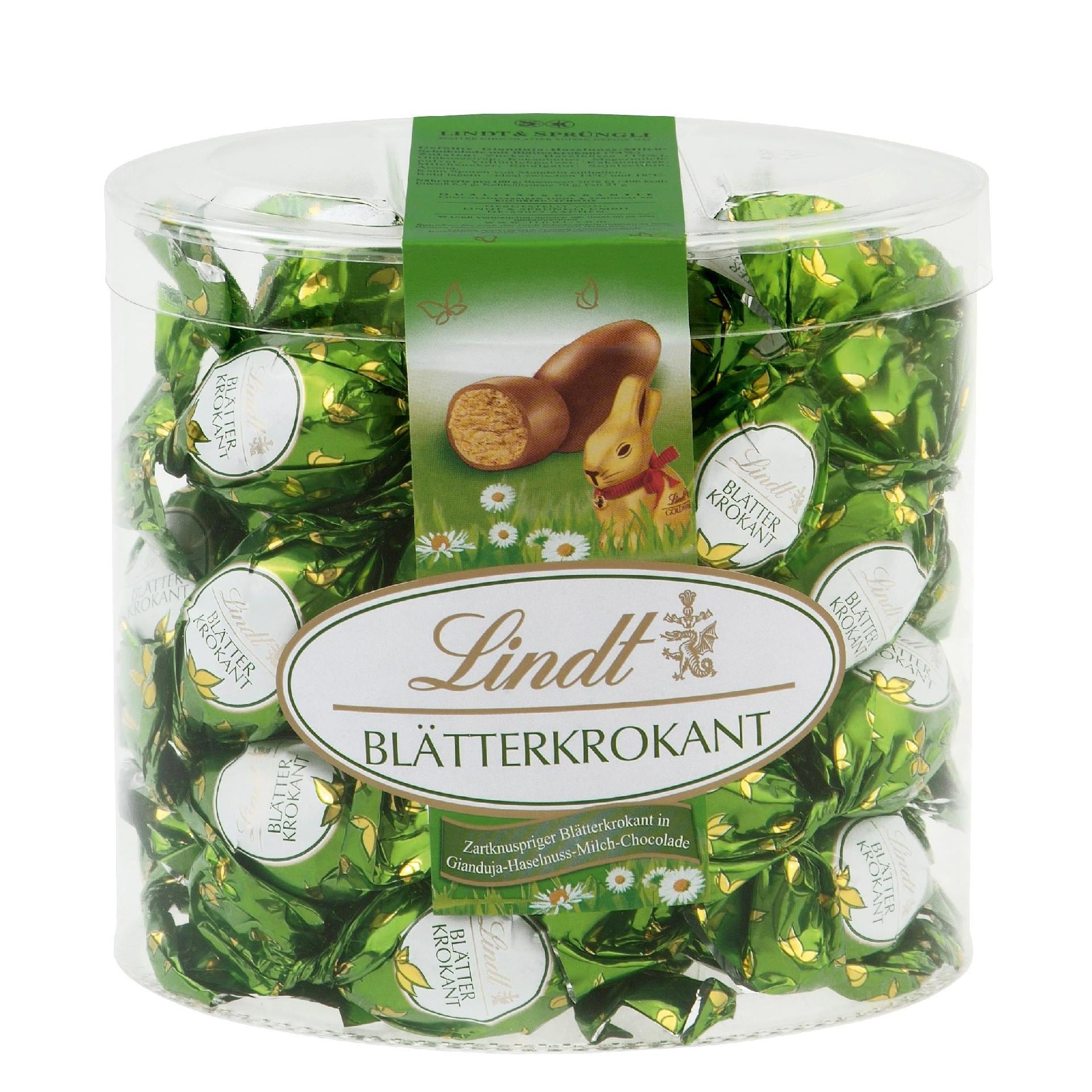 Lindt Blätterkrokant Schokoladen-Eier 425g, 25 Stück