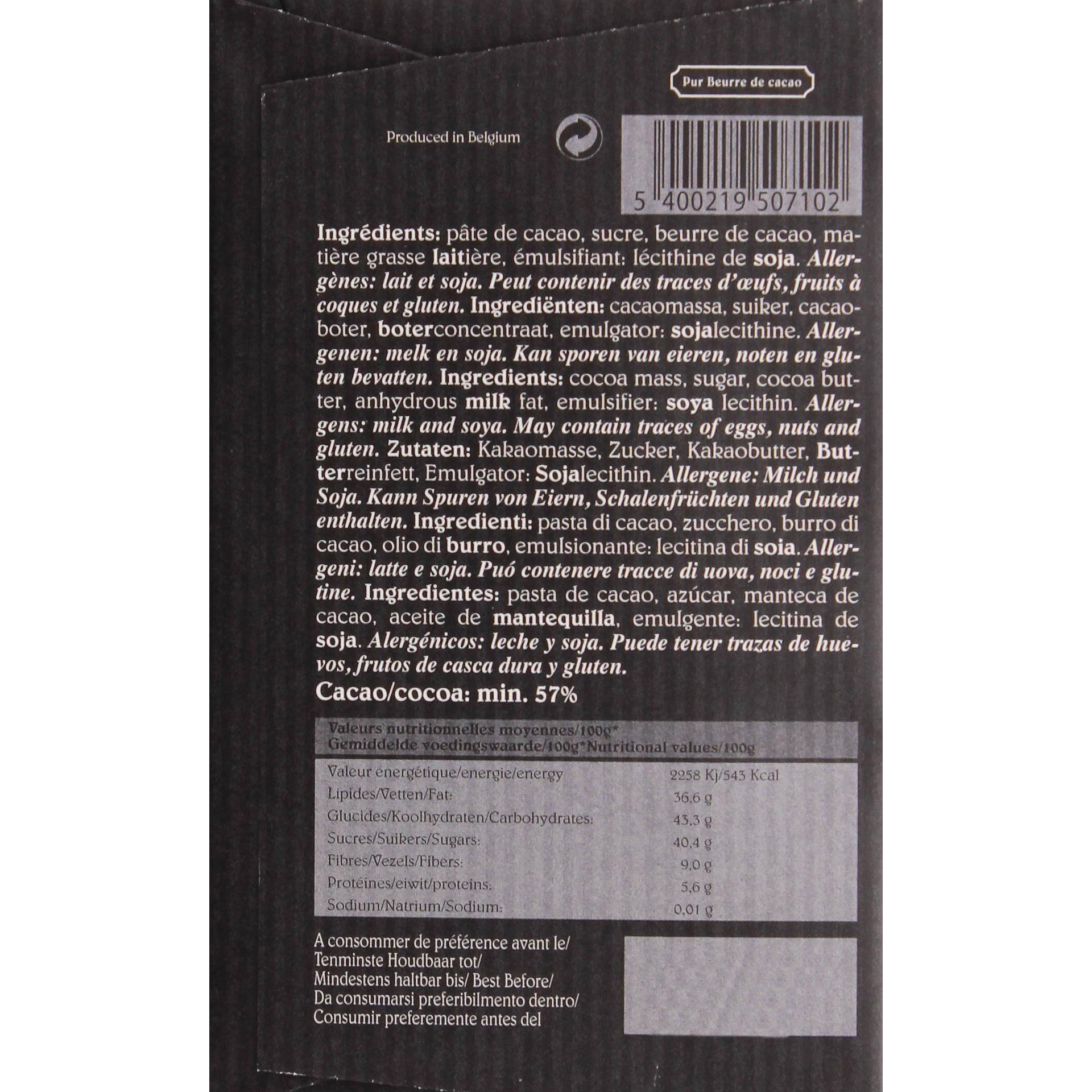 Café-Tasse - Noir Dunkle Schokolade - 100g
