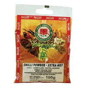 NGR - Chili-Pulver gemahlen extra scharf - 100g