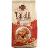 Tentazioni Pugliesi Taralli mit Tomaten und Oregano Knabbergebäck 250g
