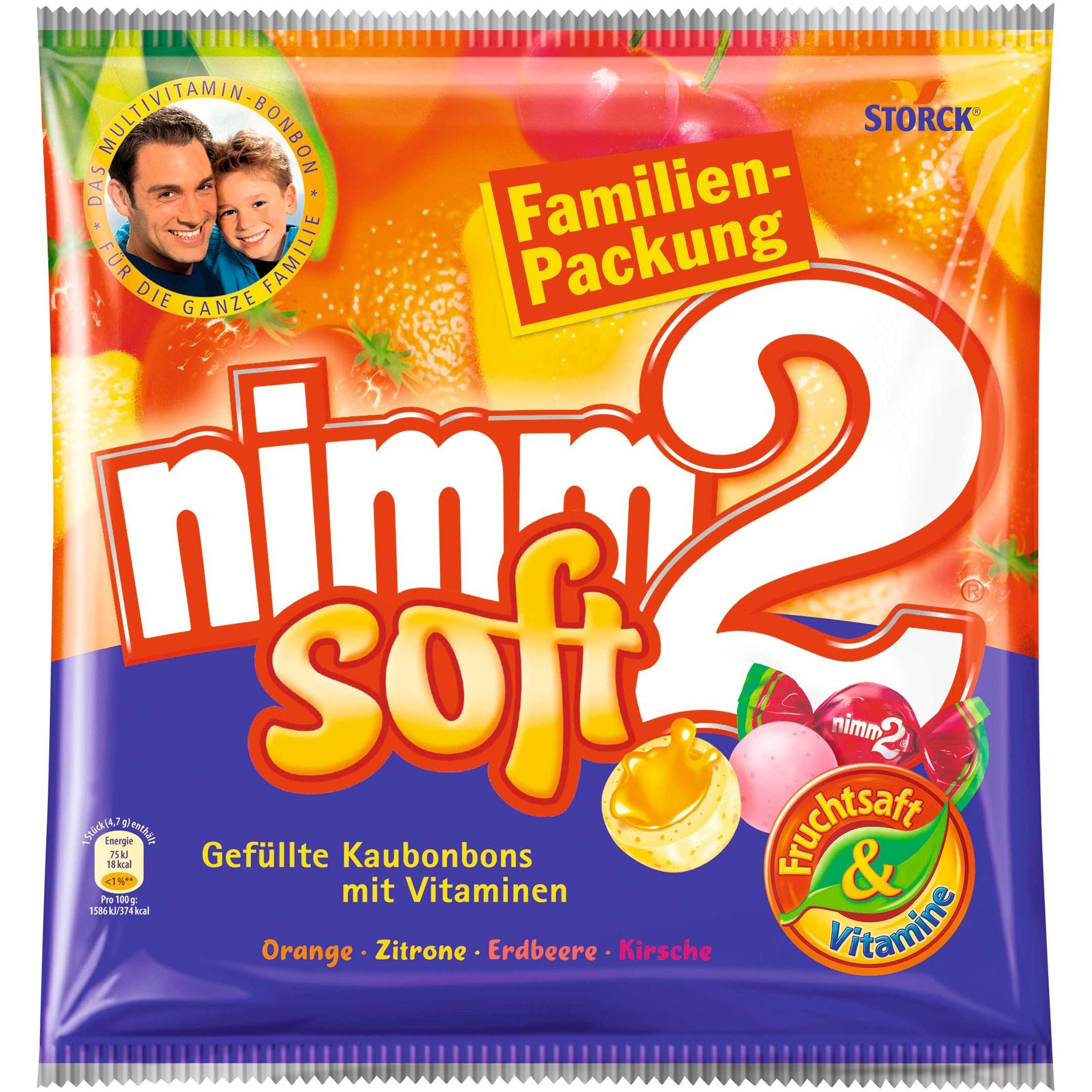 Nimm2 - Soft Kaubonbons Kaudragees - 345g