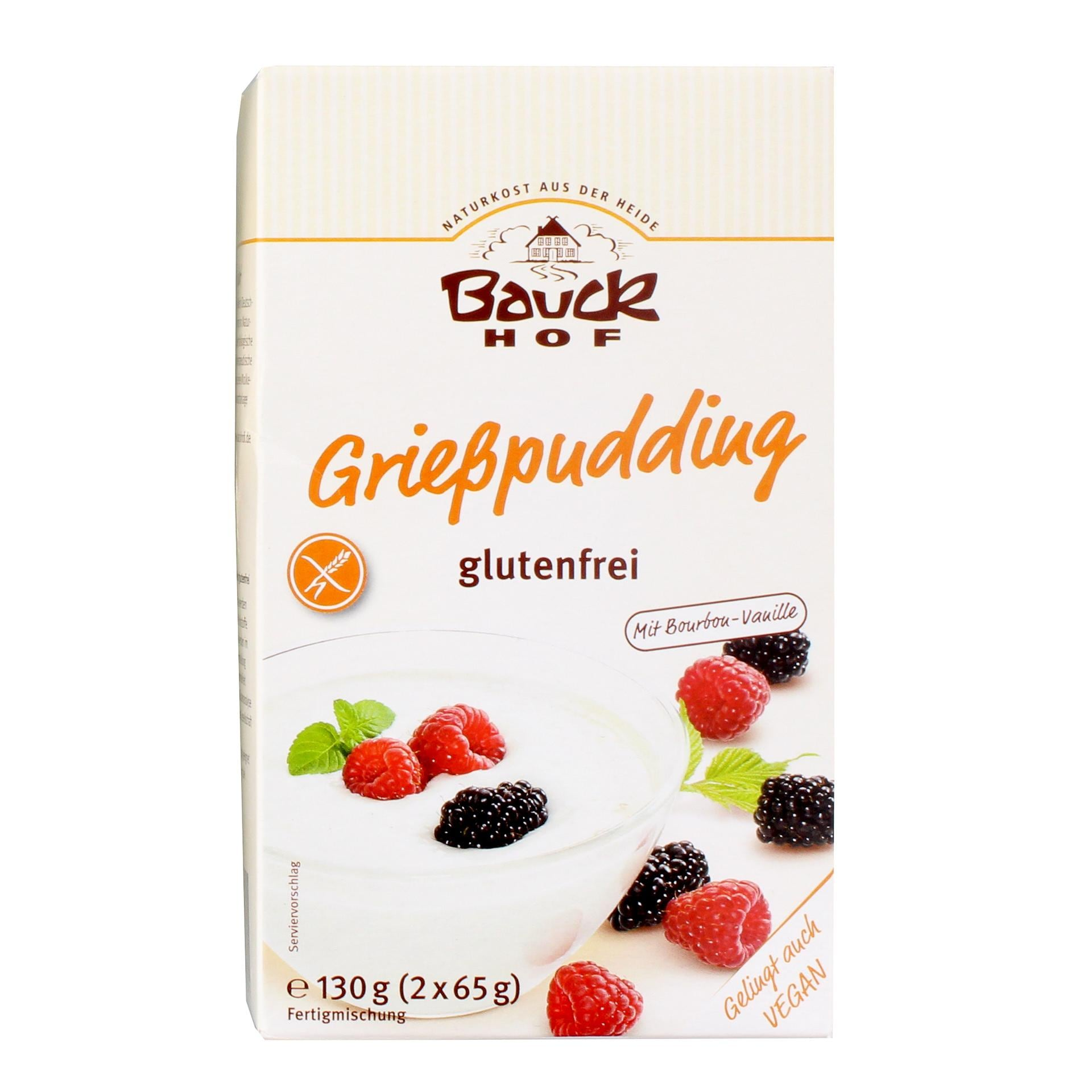 Bauck Bio Grießpudding 130g