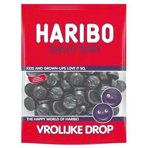 Haribo - Vrolijke Drops Zacht Zoet Lakritze - 230g