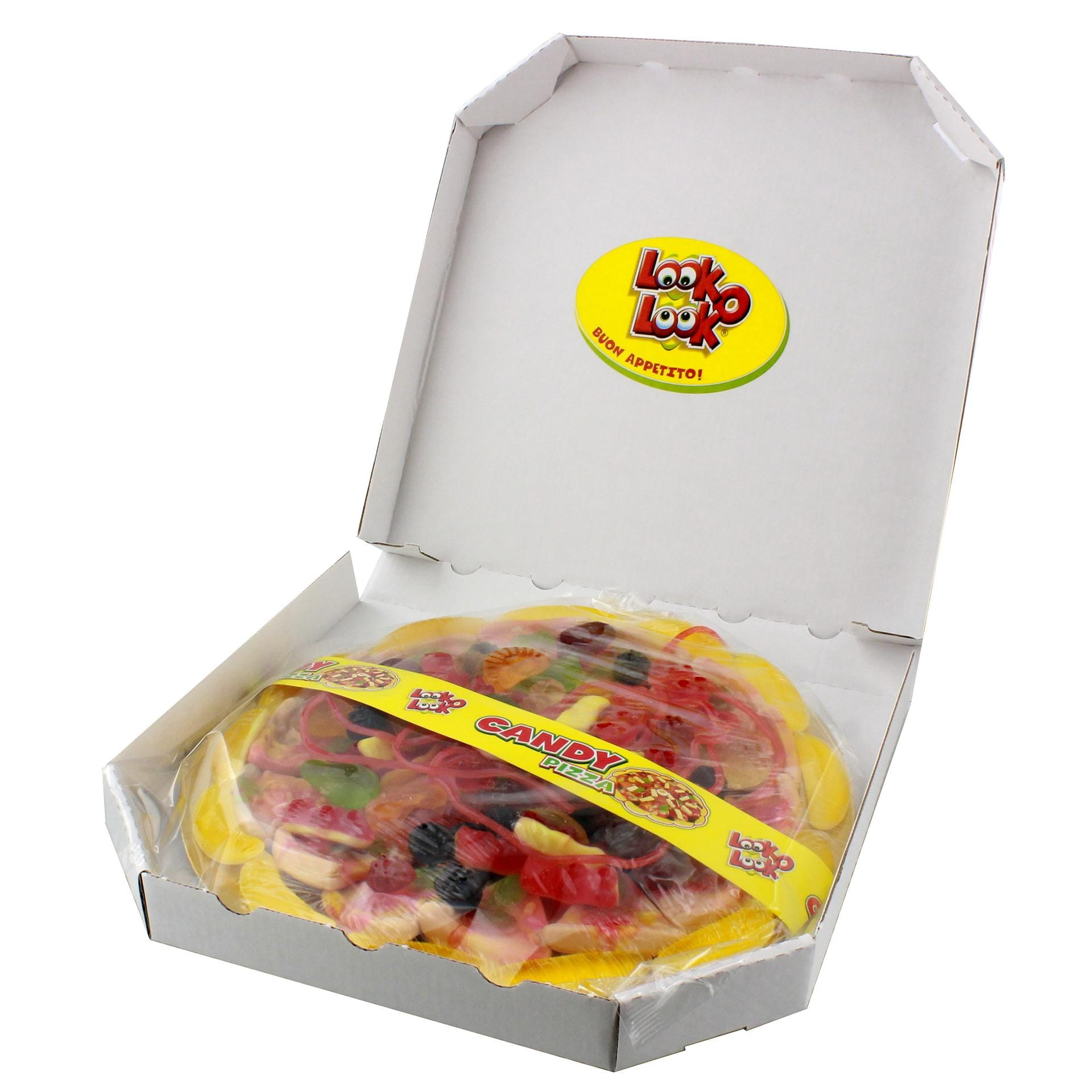 Look-o-Look - Candy Pizza Fruchtgummi - 435g