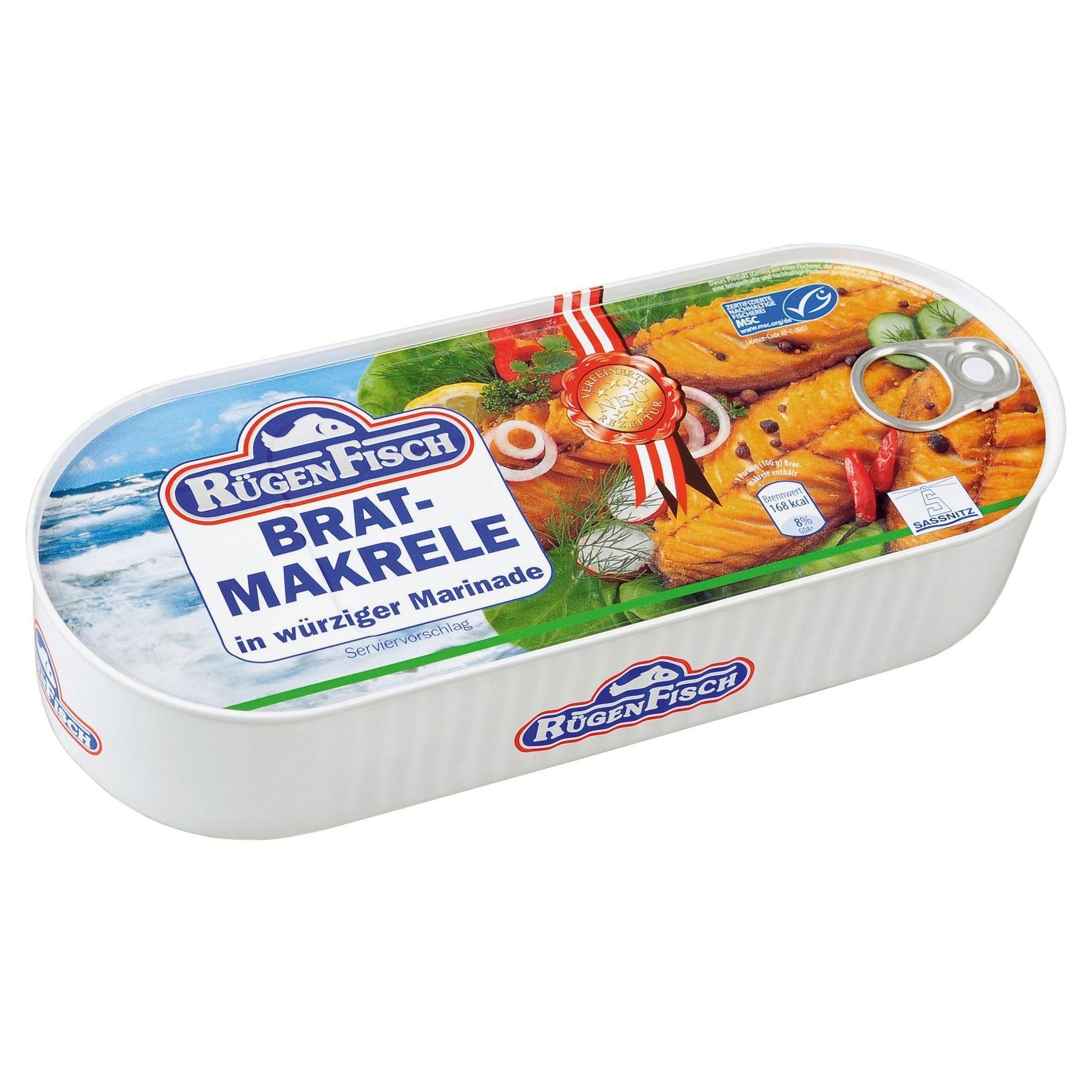 Rügen Fisch Bratmakrele 300g/500g