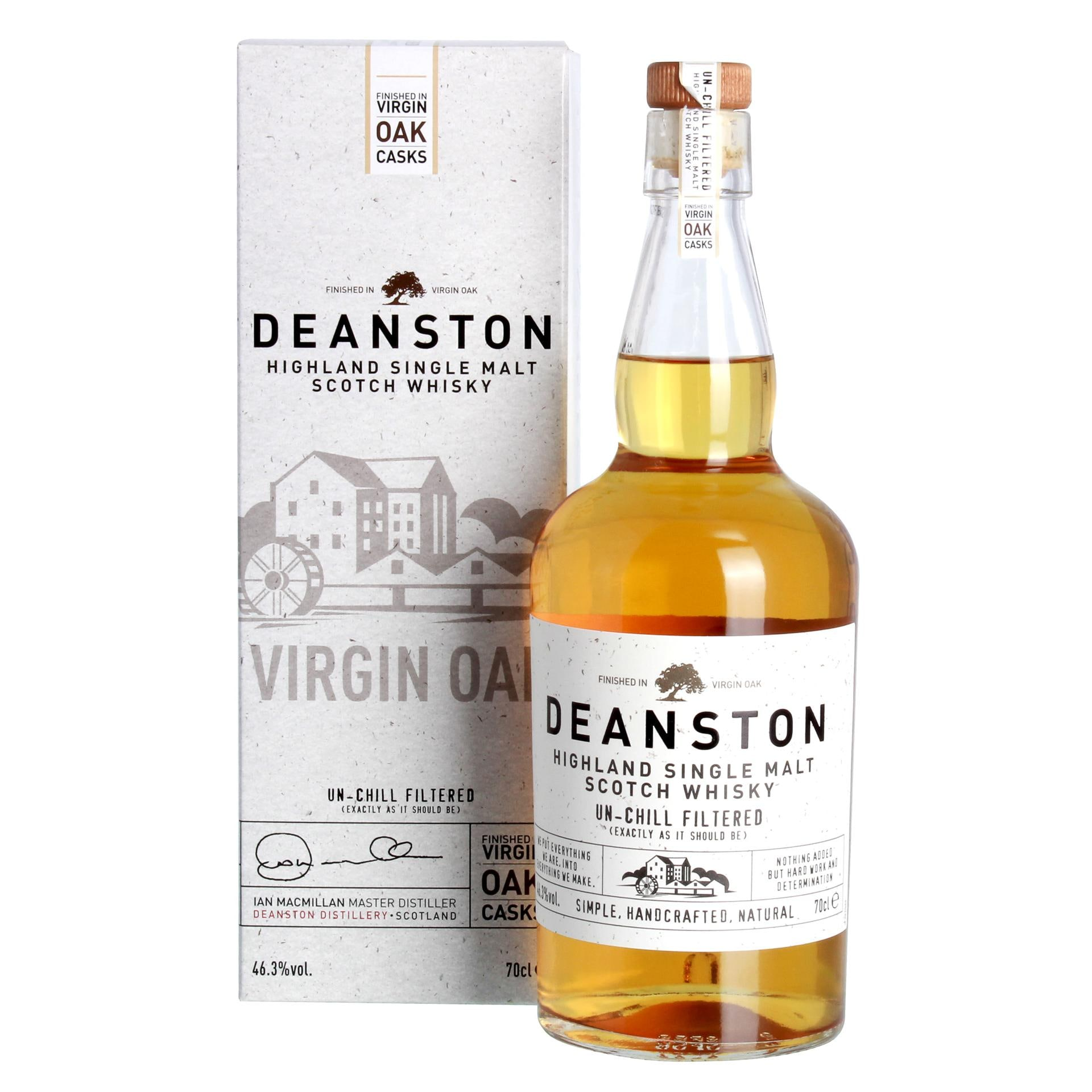 Deanston Highland Single Malt Scotch Whisky 0,7l
