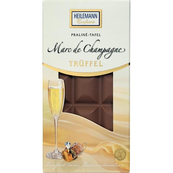 Heilemann - Marc de Champagne Trüffel Schokolade - 100g