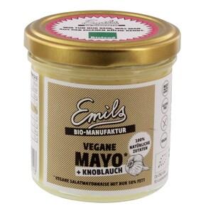 Emils Bio vegane Mayo mit Knoblauch 125g