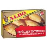 ALBO Tintenfisch gefüllt in amerikanischer Sauce Fischkonserve 72g/115g