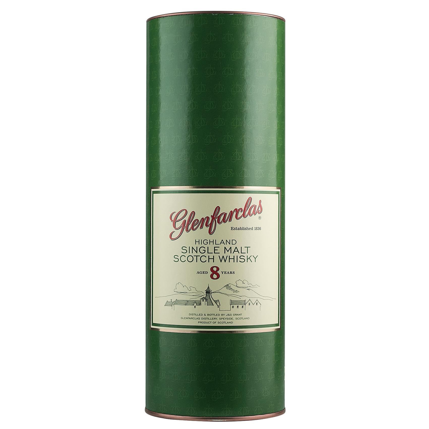 Glenfarclas Highland Single Malt Scotch Whisky 8 Jahre alt 0,7l