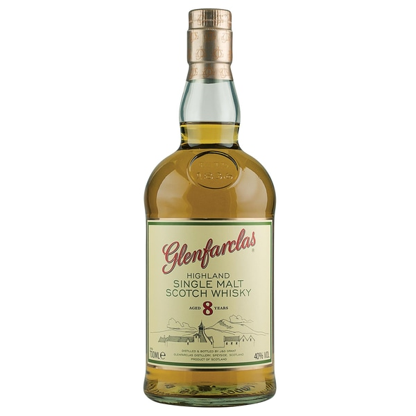 Glenfarclas Highland Single Malt Scotch Whisky 8 Jahre alt 0,7l