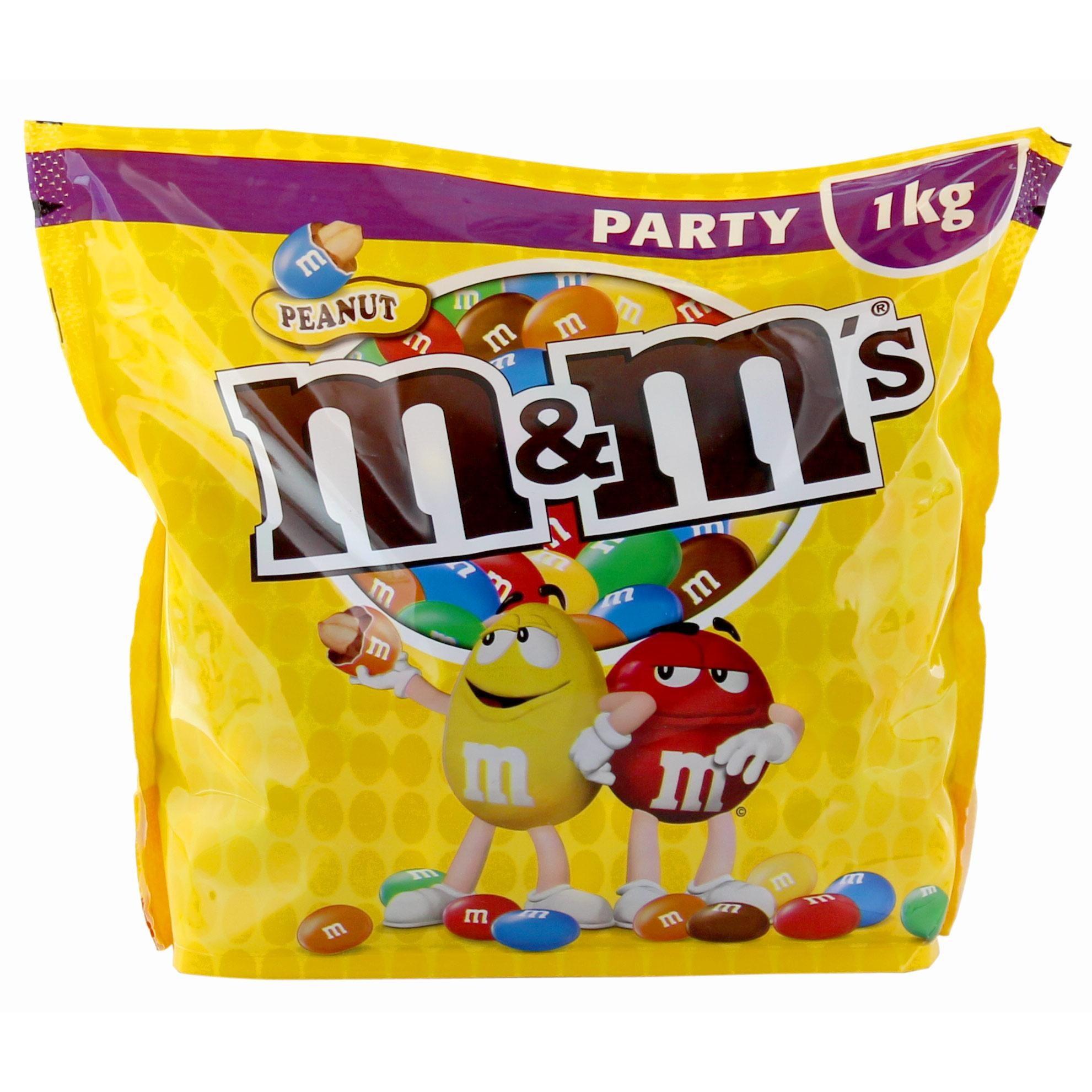 M&M'S - Peanut Party Pack Erdnüsse in Schokoladenhülle- 1kg