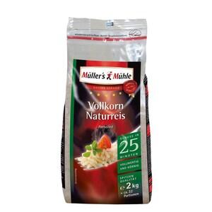Müller's Mühle - Vollkorn Naturreis Parboiled - 2kg