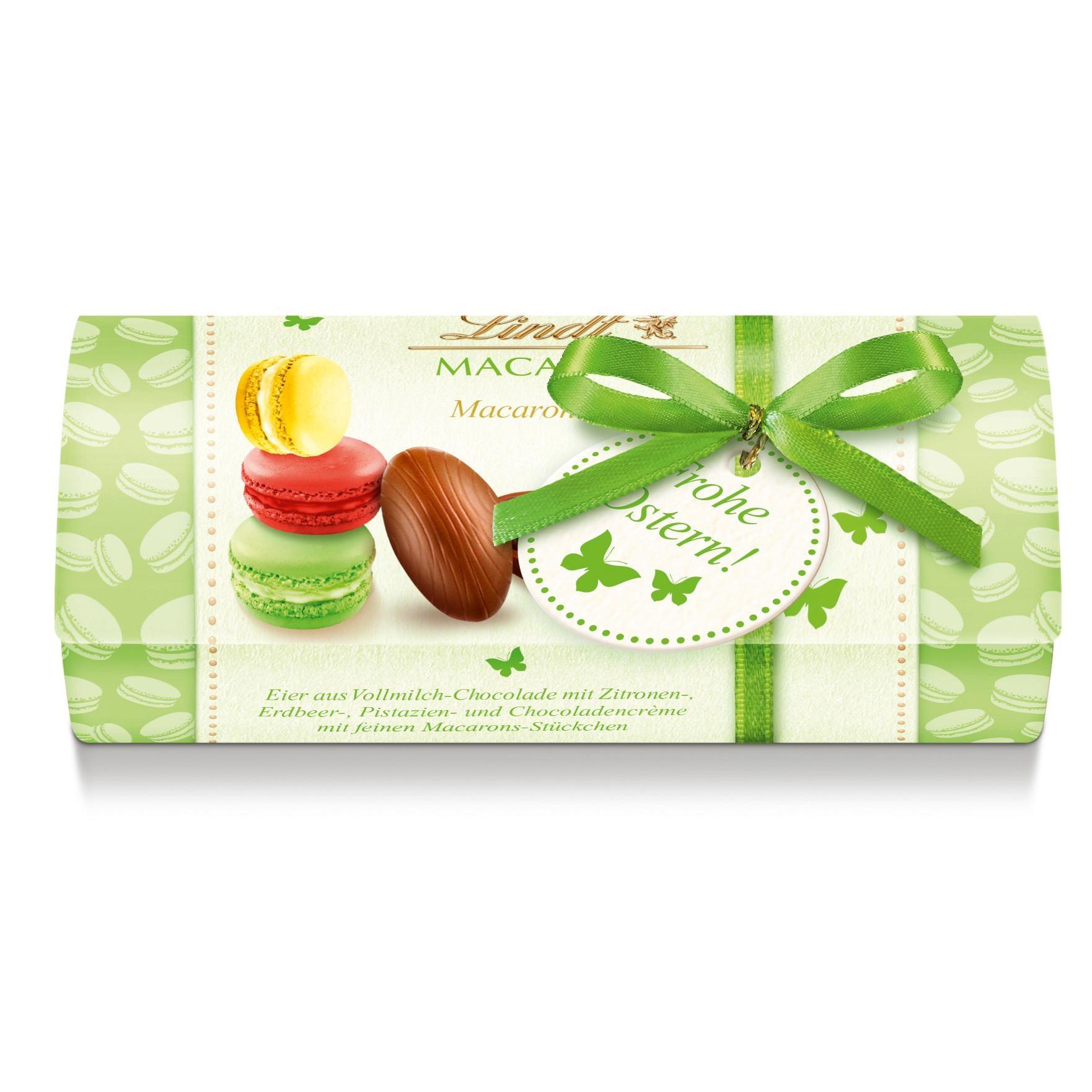 Lindt Macarons-Eier kleines Geschenk Pralinen 40g