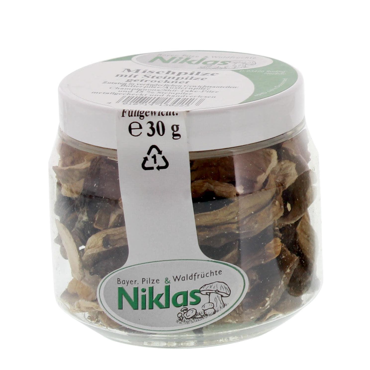 Niklas - Mischpilze mit Steinpilze getrocknet - 30g