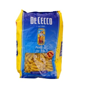De Cecco - Fusilli Nr.34 Pasta - 1kg