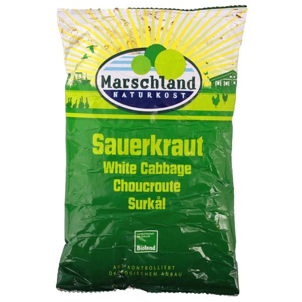 Marschland Naturkost Bio Sauerkraut 500g