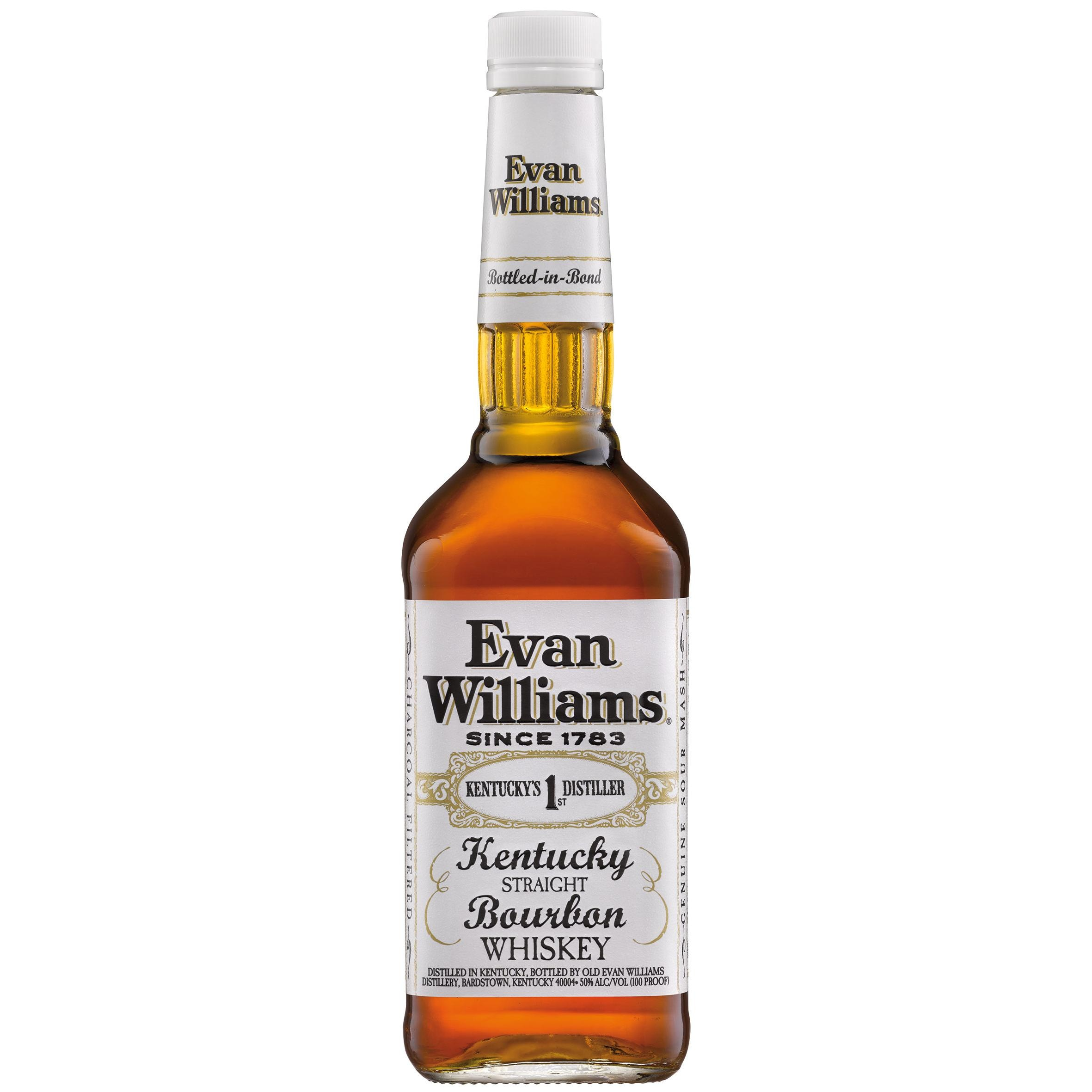 Evan Williams Kentucky Straight Bourbon Whisky 0,7l