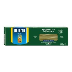 De Cecco - Spaghetti con spinacci - 500g