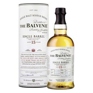The Balvenie Single Barrel 15 Single Malt Scotch Whisky 47,8% vol 0,7l