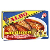 ALBO Sardinen Picantonas 85g