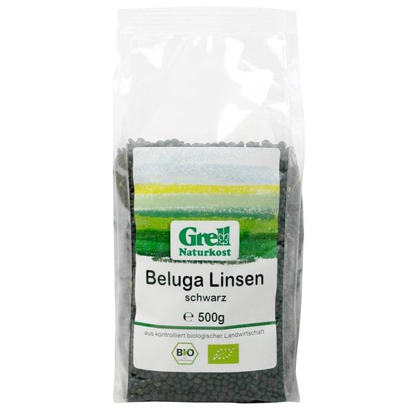 Grell Bio Beluga Linsen schwarz 500g