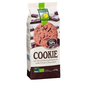 Bohlsener Mühle Bio Cookie Zartbitter 175g