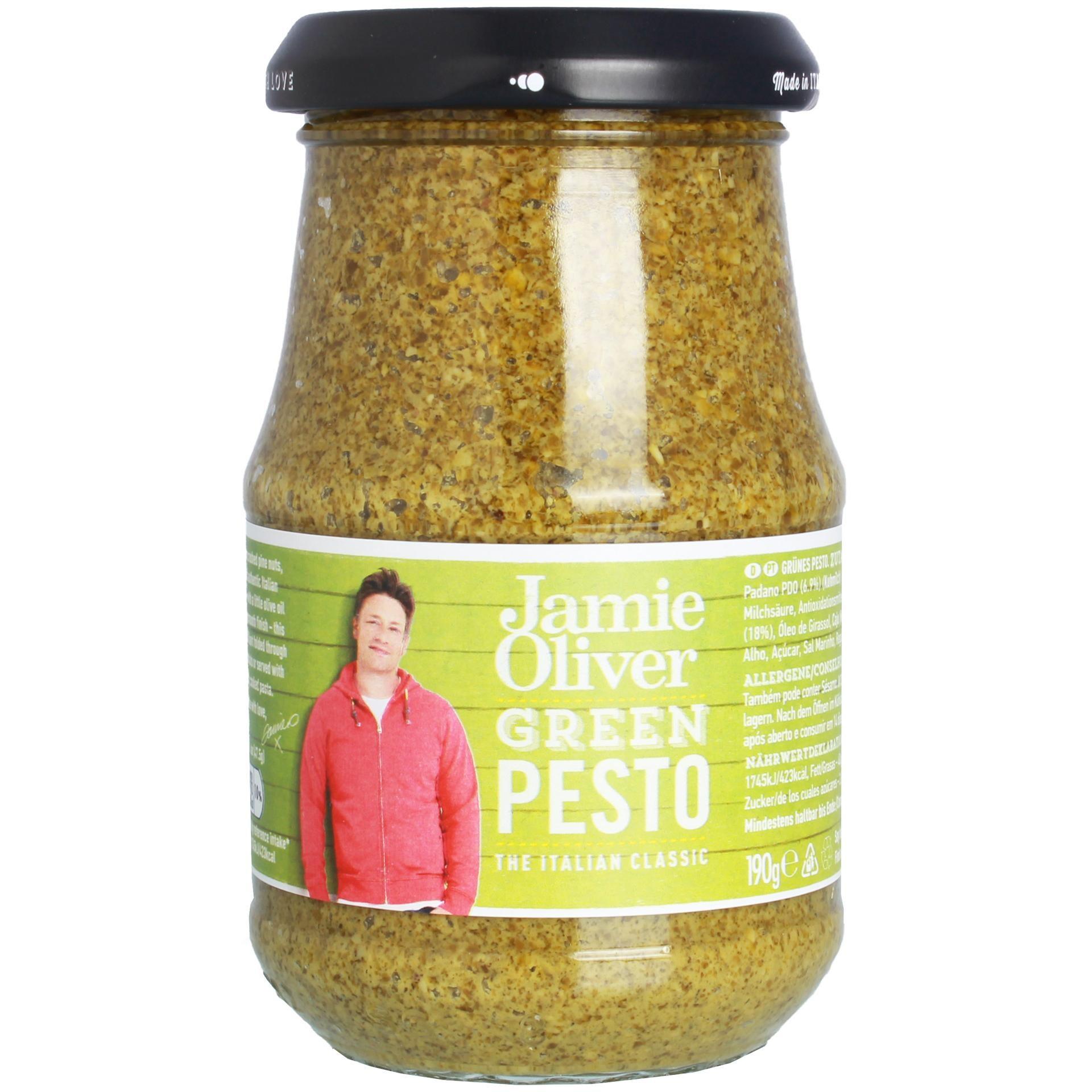 Jamie Oliver - Green Pesto Sauce - 190g