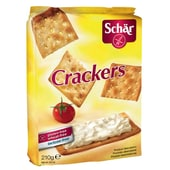 Dr.Schär Crackers glutenfrei 210g