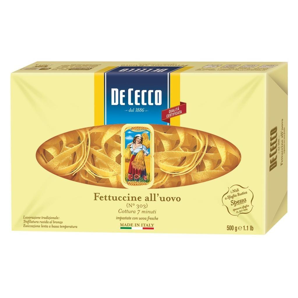 De Cecco - Fettuccine N°233 - Pasta - 500g