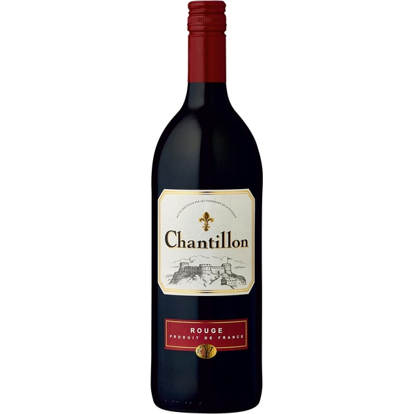 Chantillon Rouge VdP d'Aumelas Rotwein trocken 12,5% 1,0l