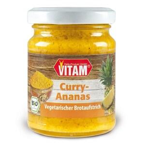 Vitam Bio Curry-Ananas Brotaufstrich 115g